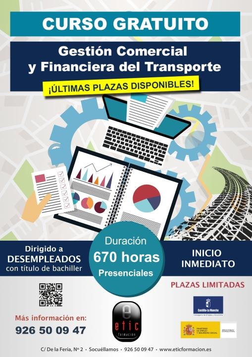 Inicio muy pronto Gestión comercial y financiera del transporte por carretera